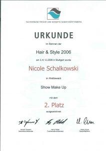 Show make up Platz 2